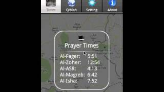 Prayer Times With Google Maps YouTube video