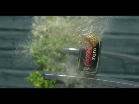 Air Pistol vs Coke Can at 2500fps – The Slow Mo Guys