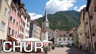 Chur Switzerland  city photo : Chur: the OLDEST city in SWITZERLAND | Travel Vlog