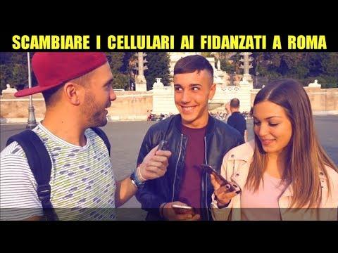 SCAMBIARE I CELLULARI AI FIDANZATI A ROMA - Distruggere le Coppie - Giacomo Hawkman