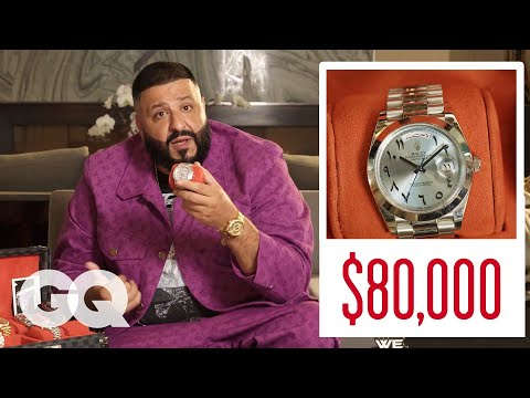 DJ Khaled Shows Off His Insane Jewelry Collection | GQ