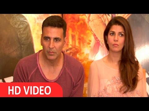 Post Success Meet With Akshay & Nimrat For Airlift