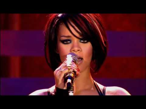 Rihanna - Rehab Live Manchester Arena HD