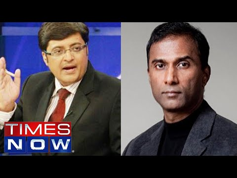 Dr V A Shiva Ayyadurai interviewed by Arnab Goswami on Times Now