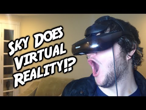 virtual - Hey guys, Sky here! Today's video is a little different, but I think you'll love it! Sony sent me a sweet virtual reality headset and to thank them I decided...