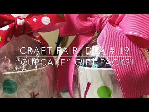Craft Fair Series 2018- Cupcake Gift Packs!
