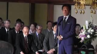 H28梶原忌(1)開式挨拶・読経焼香