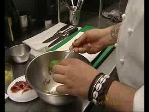 Imagen de: Ensalada de aguacate con jamon iberico y vent…
