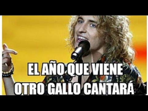 Los mejores memes del Gallo de Manel Navarro | Eurovisión 2017 | Spain