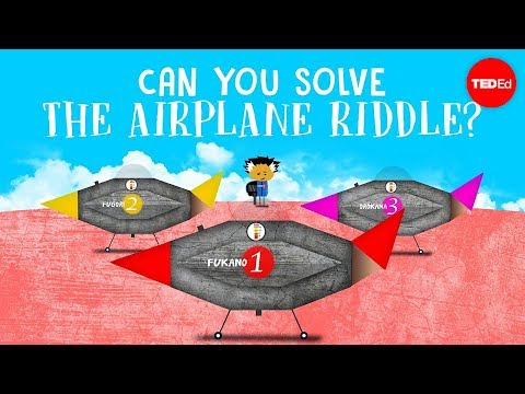 A Lesson on How to Solve the Airplane Riddle