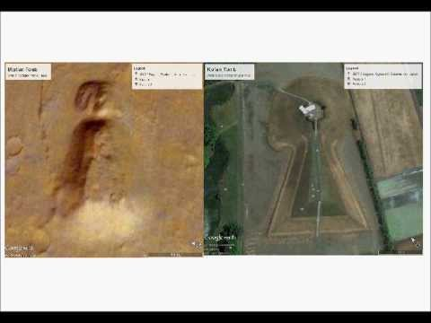 Matching Anomalies on Mars & Earth!