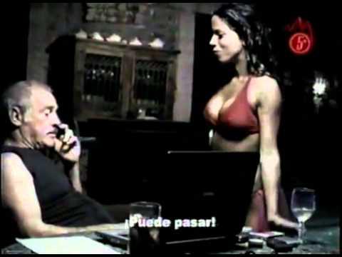 Vanessa Terkes en tanga