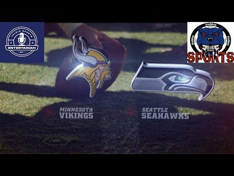 Minnesota Vikings vs Seattle Seahawks Play by Play & Reaction!
