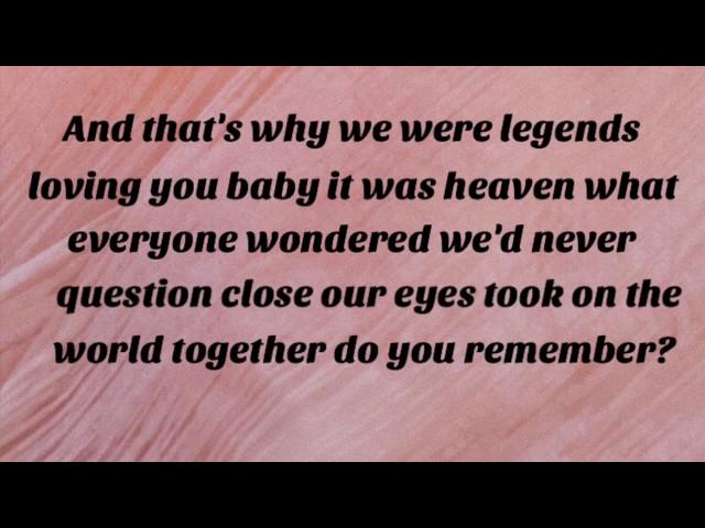 Legends-kelsea-ballerini-lyrics