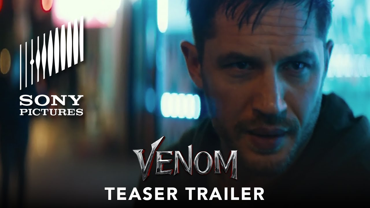 Tom Hardy in 'Venom' (Teaser Trailer) with Michelle Williams leaves Us Wanting More