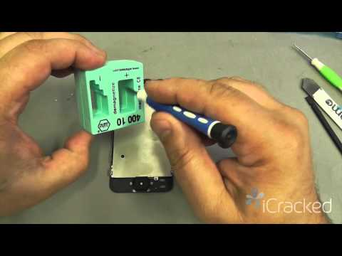 replacement - http://www.iCracked.com - iCracked, the world's best iPhone, iPod, and iPad repair & buyback company, shows you how to repair your iPhone 5 with their Offici...