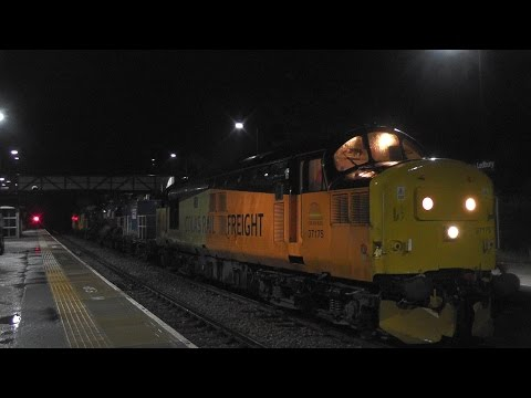 Horns & Thrash from Colas Rail 37175 & 37219 on RHTT at L...