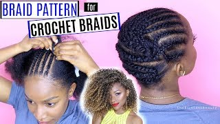 Wanna try crochet braids but don't know how to cornrow braid your hair?? Watch this video - my Detailed Braid Pattern for all hair types!⇣ Watch These Videos Next⇣MY LATEST CROCHET BRAID STYLE: https://youtu.be/ZvQ2Y-MzyEsHOW TO STYLE CROCHET BRAIDS: https://youtu.be/UGrloW3U0h4HOW TO MAINTAIN CROCHET BRAIDS: https://youtu.be/VoBzRsy3-CcMY CROCHET BRAIDS PLAYLIST: https://www.youtube.com/playlist?list=PL3wZ0hUMe2hJOJVzJwSMdl5oEahiLw_Eb😋Welcome to my channel! I'm Jodi, and I share my creative ideas through TheBrilliantBeauty by uploading weekly beauty tutorials. My hope is to inspire you to try something new and be confident in the process.⇣KEEP UP WITH MEINSTAGRAM: @thebrilliantbeautySNAPCHAT: brilliantb3autyTWITTER: @BrilliantJodianFACEBOOK: The Brilliant BeautyPINTEREST: The Brilliant BeautyBooking email ⇢ thebrilliantbeautybiz@gmail.com--EQUIPMENT I FILM WITH--Canon 80D http://amzn.to/2a3vnHQRing Light http://amzn.to/2arNbfA