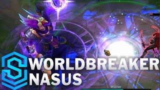 Chi tiết hình ảnh bộ trang phục mới Worldbreaker Nasus