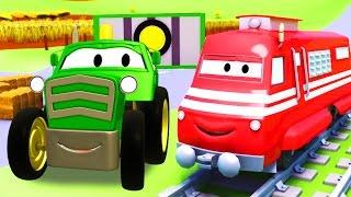 Troy el Tren y el Tractor en Auto City | Dibujos animados para niños full download video download mp3 download music download