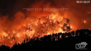 Hill City (SD) United States  city images : 4-24-16 Hill City, SD; Forest Fire