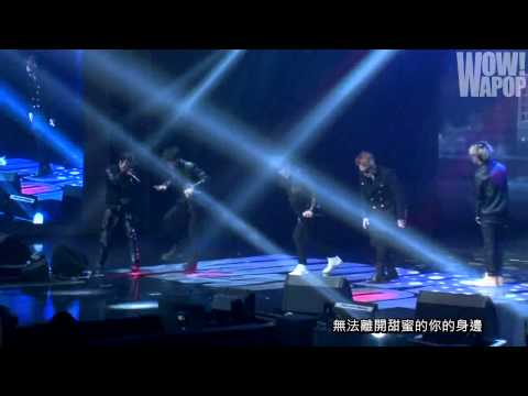 [中字] 140111 BEAST in WAPOP Concert – Shadow + Fiction + 美麗的夜晚