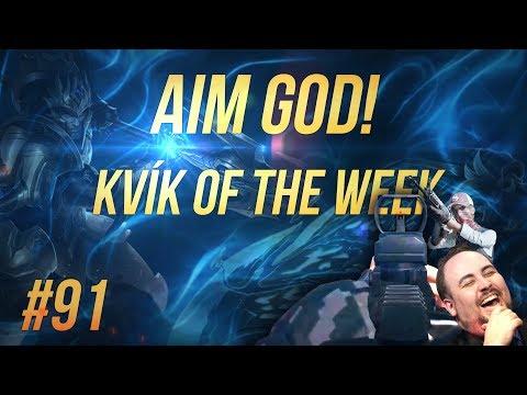 Kvík of the Week #91 - AIM GOD!