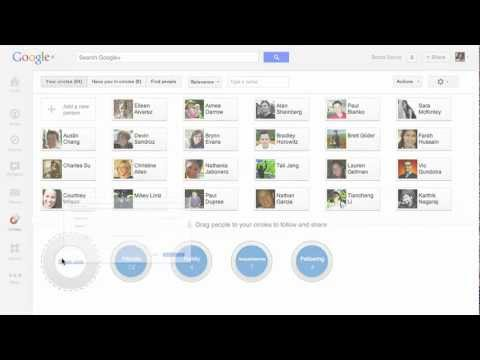 Image of Google+: About Circles - New Google+ (G+) video commercial