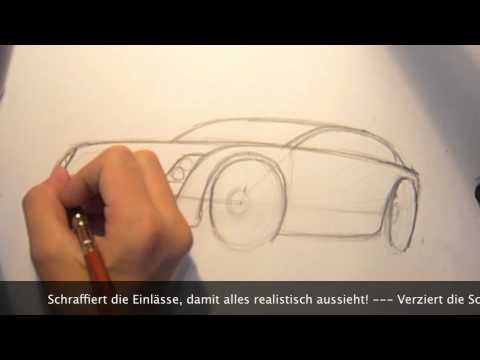 How to draw a Car – Tutorial in Steps Vol. 1