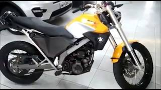 10. BMW Motorrad G 650 XCOUNTRY 2009 YELLOW DETAILS VIDEO