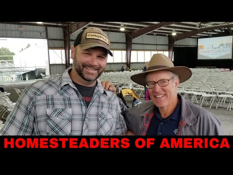ALL OF YOUR FAVORITE HOMESTEADERS IN ONE FARM VLOG...HOMESTEADERS OF AMERICA 2018