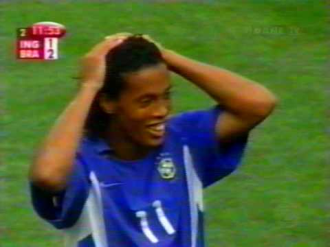 Copa do Mundo 2002  - quartas de final - Brasil 2 x 1 Inglaterra