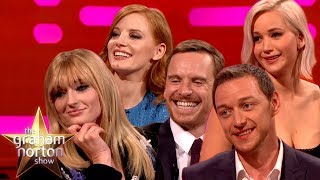 Video Graham Norton Takes On The Cast Of X-Men Dark Phoenix! | The Graham Norton Show MP3, 3GP, MP4, WEBM, AVI, FLV Juni 2019