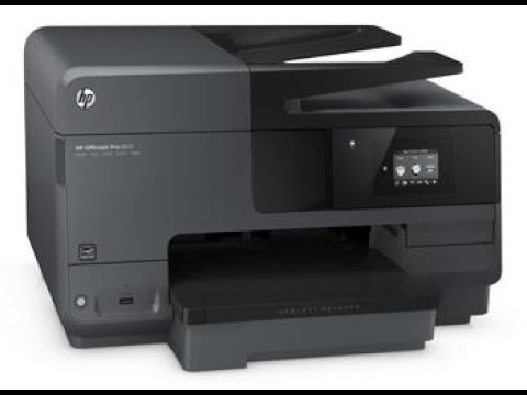 HP OFFICEJET PRO 8710 All-in-one Printer Scanner Copier Fax