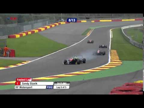 Euroformula Open RD 6 BELGIUM – Spa Race 2 – Alex Palou