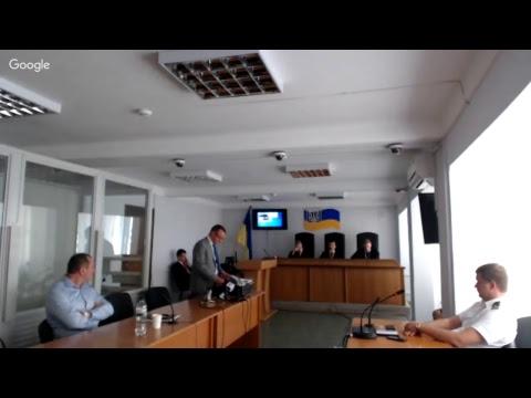 Судове засідання у справі за обвинуваченням В.Януковича у державній зраді (видео)