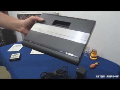 Video Game Atari 7800 - Sua história - Manutenção - Limpeza