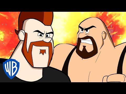 Jetsons & WWE: Robo-Wrestlemania! | Sheamus' Call Out | WB Kids