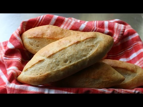 How to Make Sandwich Rolls - Easy French Rolls Recipe
