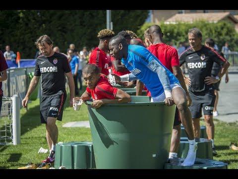 INSIDE : Mbappé, Subasic et Gilk à l'eau ! - AS MONACO