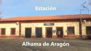Alhama de Aragon Spain  city pictures gallery : Estacion Alhama de Aragon