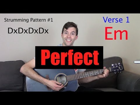 "How to Play ""Perfect"" on Guitar"