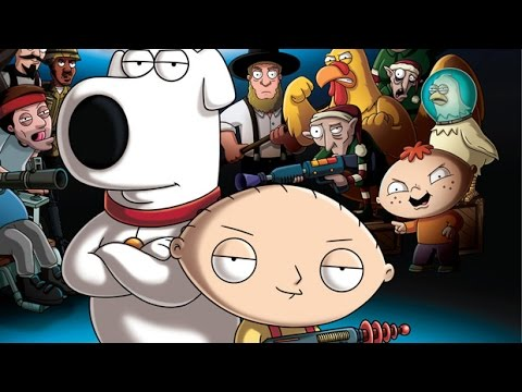 Family Guy Back To The Multiverse Full Game Movie All Cutscenes Cinematic