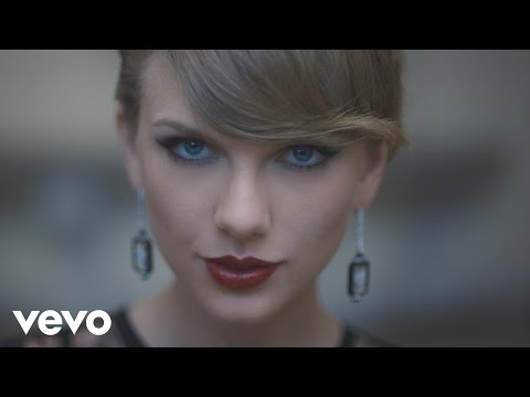 Taylor Swift - Blank Space, El Tercer Video Mas Visto del Mundo