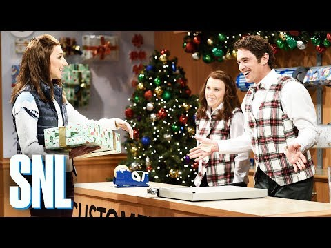 Gift Wrap - SNL sketch with James Franco
