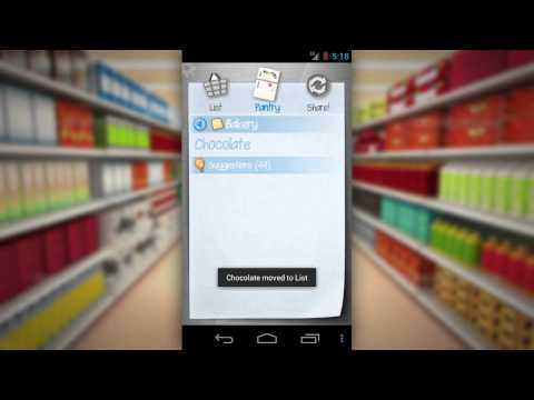 Video of Shopping List - ListOn