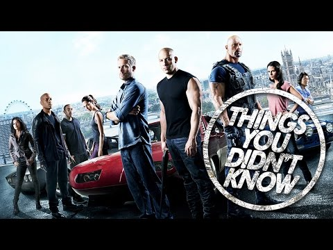 7 More Things You Didn  t Know About Fast and the