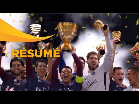 Paris Saint-Germain - AS Monaco ( 3-0 ) (Finale) - Résumé - (PSG - ASM) / 2017-18