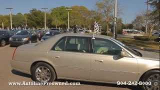 Autoline Preowned 2008 Cadillac DTS For Sale Used Walk Around Review Test Drive Jacksonville