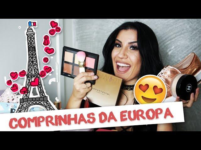 COMPRINHAS DA EUROPA - Boca Rosa